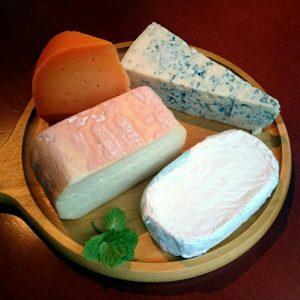 北海道産チーズの盛り合わせ
