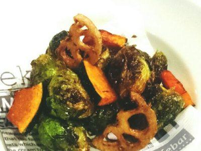 芽キャベツと季節野菜のフリット