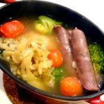 祥瑞札幌名物-シュークルート鍋