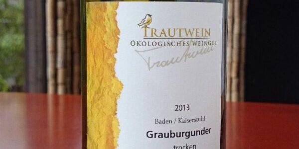 【ドイツ 辛口】「トラウトワイン」グラウアーブルグンダー