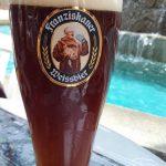札幌ドイツ村のグラスビール