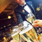 シナちゃんワイン会で乾杯